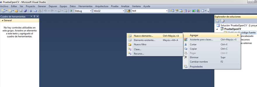 installer OpenCV 2.4.0